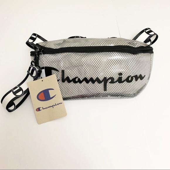 Champion Fanny Waist Pack Script Logo Clear